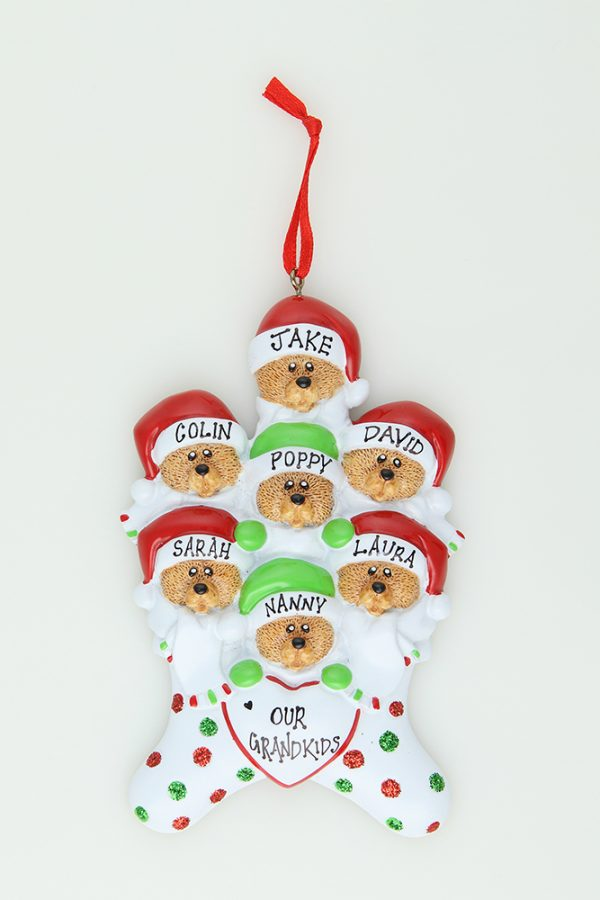 Bear Stockings - Family of 7 * * SOLD OUT * *