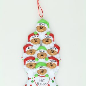 Bear Stockings - Family of 9 * * SOLD OUT * *