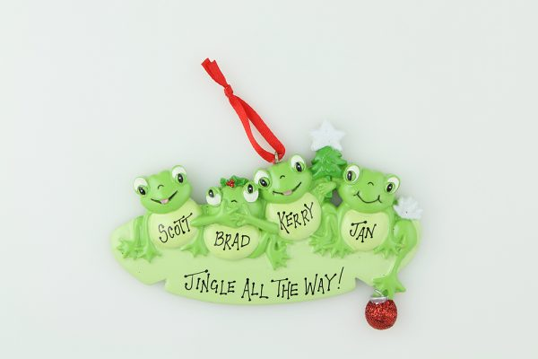 Frog Family of 4 * * SOLD OUT * *