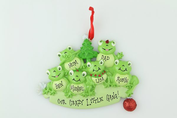 Frog Family of 6