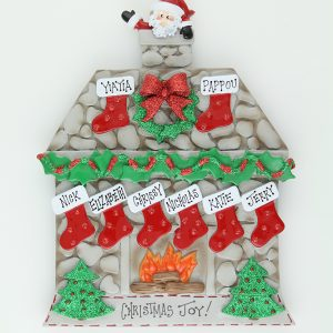 Holiday Cabin Fireplace - Tabletop