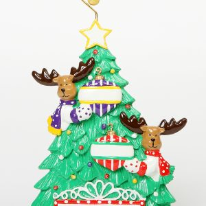 Moose Tree Tabletop Couple - Our 1st Christmas