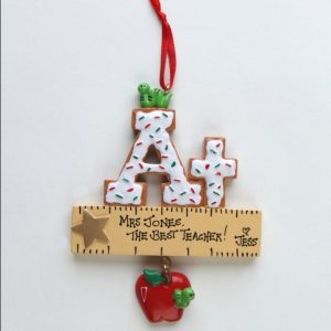 A+ Teacher Gift with Ruler