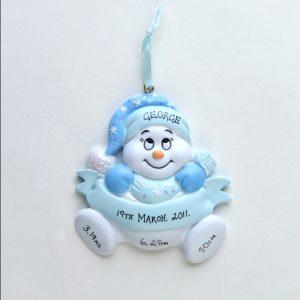 Baby Boy Snowbaby - Newborn
