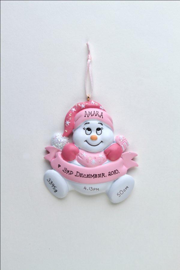 Baby Girl Snowbaby - Newborn
