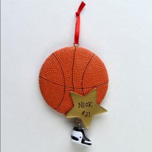 Basketball Gold Star