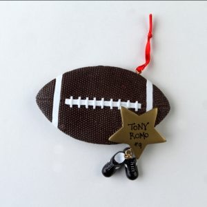 Football with Gold Star