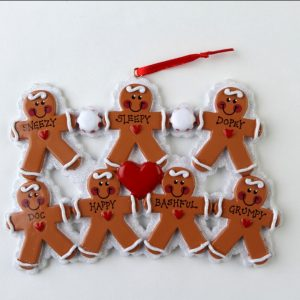 Gingerbread Family of 7