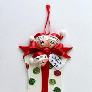 Glitter Gift - Family of 3