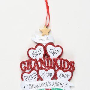 Grandkids - 5 Hearts