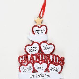 Grandkids - 6 Hearts
