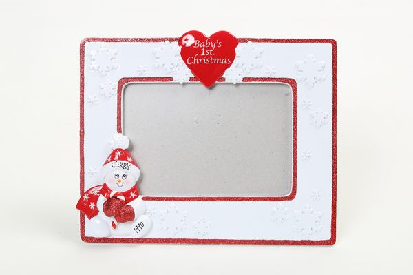 'Snowbaby' Picture Frame - Red * * Last one in stock * *