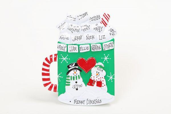 Christmas Mug Tabletop