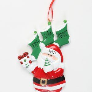 Santa's 3 Stockings