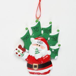 Santa's 5 Stockings