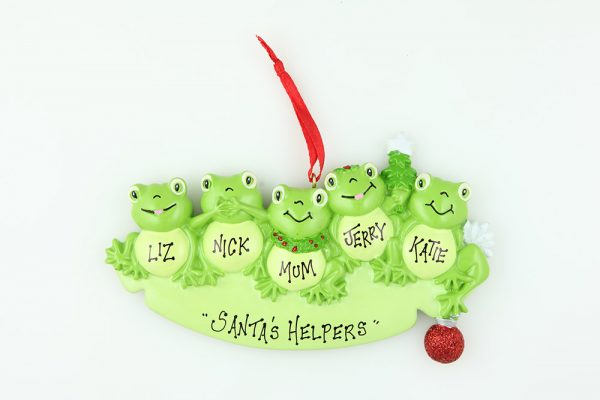 Frog Family of 5
