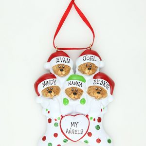 Bear Stockings - Family of 5 * * SOLD OUT * *