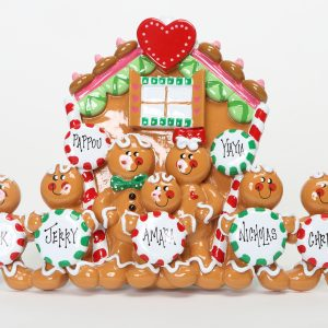 Gingerbread Tabletop - Family of 7