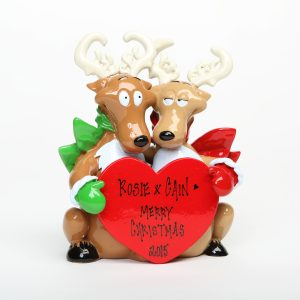 Reindeer Couple Tabletop