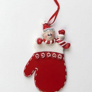 Red Mitten Single Elf