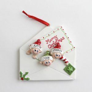 Christmas Letter - Family of 3