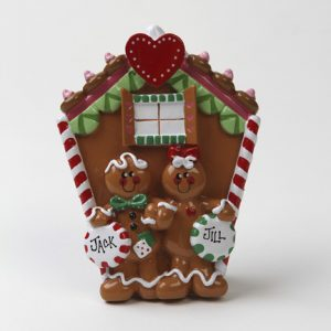 Gingerbread Couple Tabletop Couple