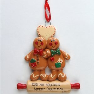 Gingerbread Rolling Pin Couple