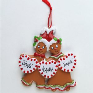 Sweet Gingerbread - 3 Hearts