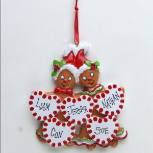 Sweet Gingerbread - 5 Hearts