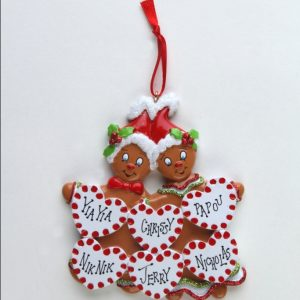 Sweet Gingerbread - Family of 6