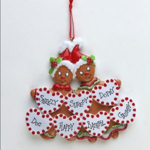 Sweet Gingerbread - Family of 7